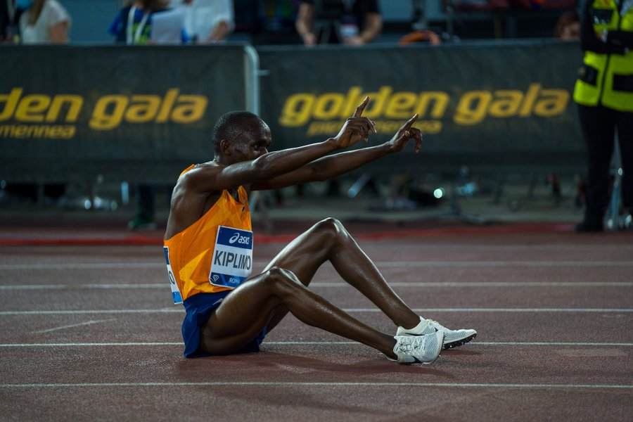 Jacob Kiplimo Rome - The Touchline Sports