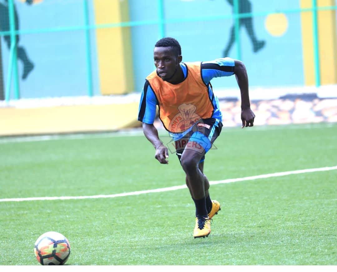 Halid Lwalilwa - will be key for Vipers ahead of the StarTimes 2020/21 season