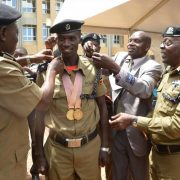 Joshua Cheptegei Uganda Police - the touchline sports