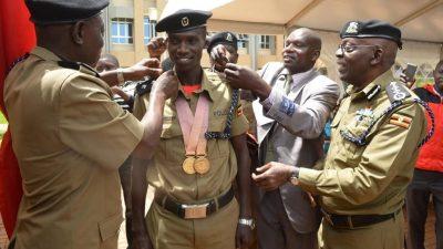 Joshua Cheptegei Uganda Police - the touchline sports