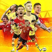 Place it Der Klassiker - Bayern vs Dortmund - the Touchline Sports