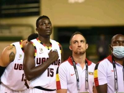 Uganda men's basketball team