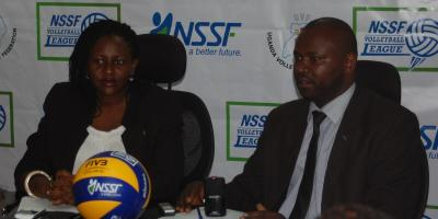 Sadik Nasiwu, Uganda Volleyball Federation, UVF
