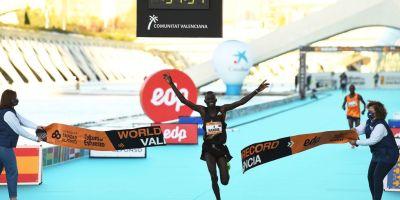 Kibiwott Kandie- Peres Jepchirchir - Jacob Kiplimo declines in Valencia Marathon