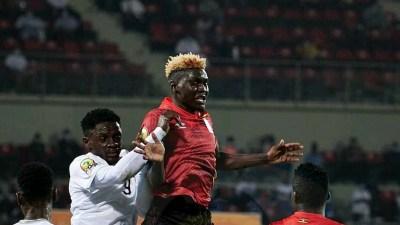 Togo vs Uganda ends