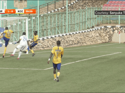Peter Magambo's own goal