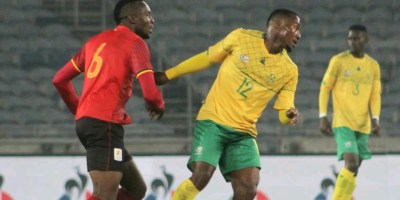 South Africa 3-2 Uganda - Bafana Bafana come from a goal down to beat Cranes 3-2