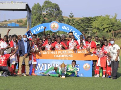 The Touchline Sports - StarTimes decorates Big League final with prizes
