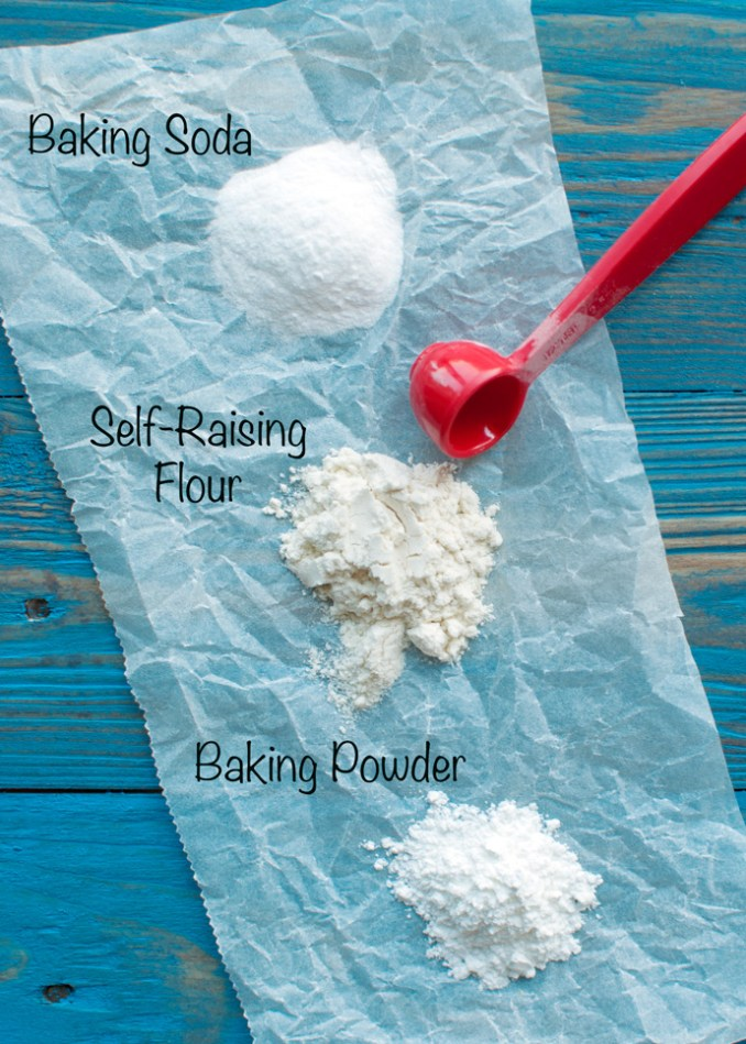 The Difference Between Baking Soda and Baking Powder - The