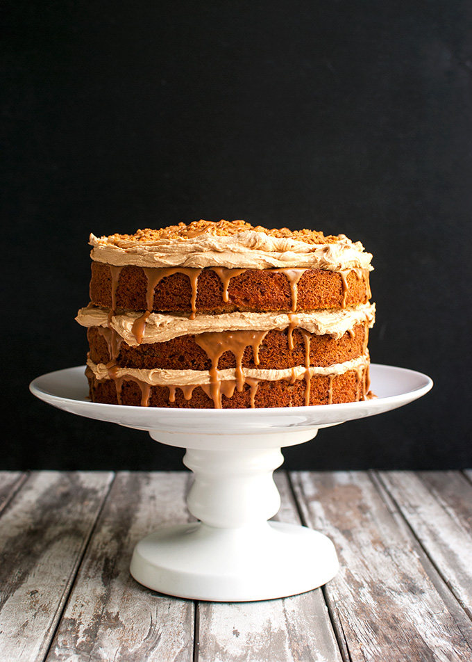 Triple Biscoff Carrot Cake   The Tough Cookie The Tough Cookie   Triple Biscoff Carrot Cake   Carrot Cake Studded with  Pecans and Filled