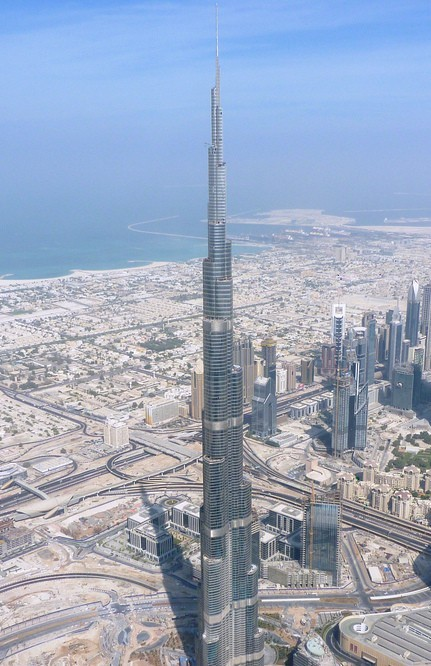 Burj khalifa facts and information the tower info for Burj khalifa footprint