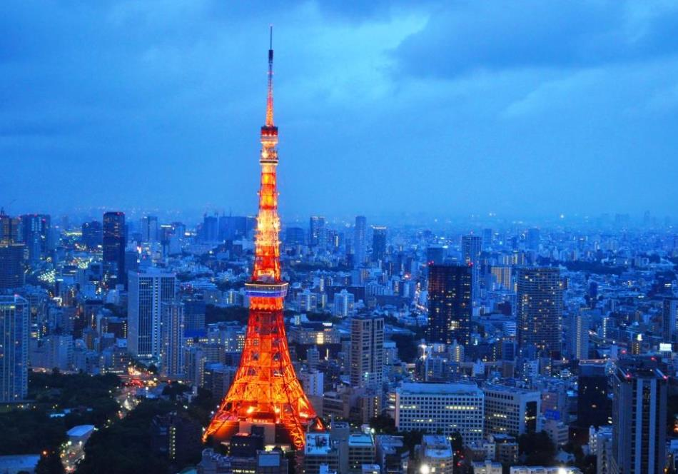 tokyo tower facts and tourist information the tower info