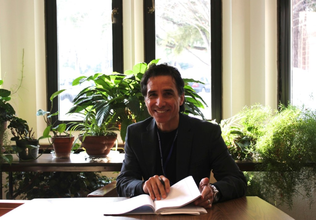 Superintendent Stephen Cochrane's term began on January 1. His entry plan includes meeting with staff, students, and community partners. photo: Severine Stier