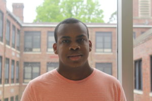 """Amir Moon '17 plans to attend Cabrini University and hopes to become an elementary school teacher. photo by <span class=""""credit credit- """"><a href=""""/credit/""""Angel/"""" title=""""View all of this person's work"""">""""Angel</a></span>"""