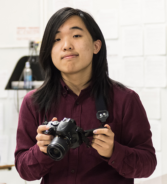 Everett Shen '18: the student behind PHS's film magazine