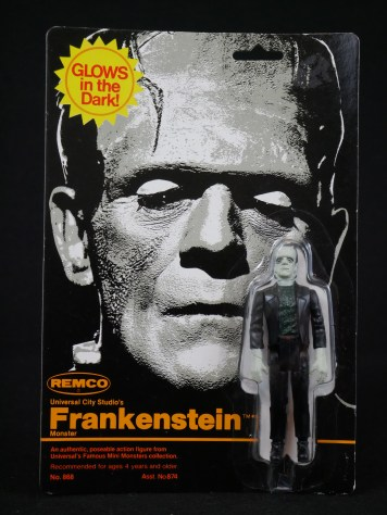 Remco Mini Monster Frankenstein Action Figure