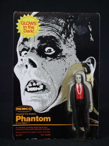 Remco Mini Monster Phantom Action Figure