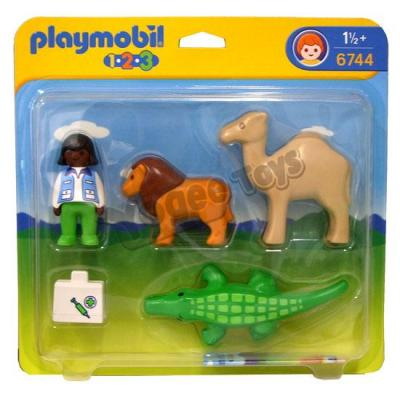 Image of: Amazon Featured The Toy Exchange Saigon Wordpresscom Brand New Playmobil Zoo Vet With Animals Vnd 160000 The Toy