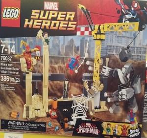 Marvel Lego Rhino Sandman Villian Team-up