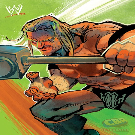 SDCC WWE Comic