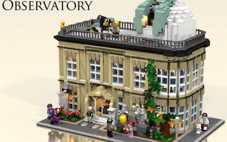 LEGO City Observatory