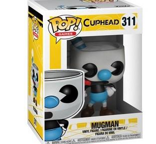 Cuphead Pop Figures