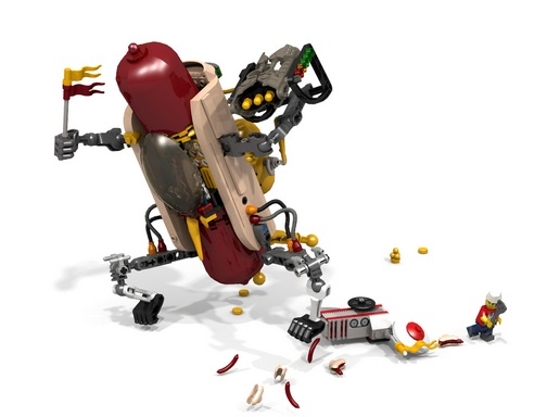 LEGO Ideas Hot Dog Mech