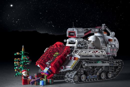 Santa Claus Arctic Crawler
