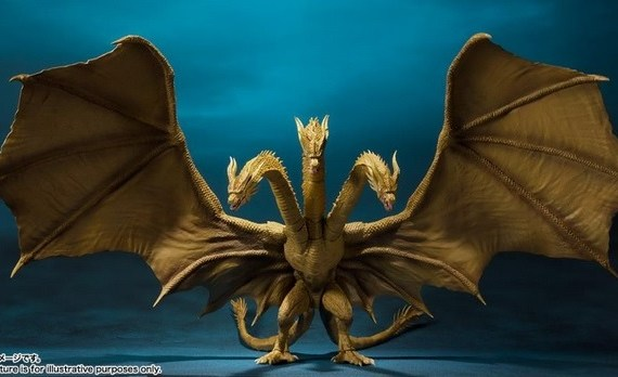 MonsterArt King MonsterArts King Ghidorah