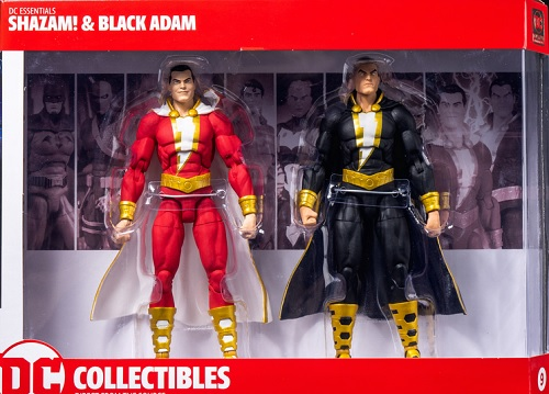 DC Collectibles Shazam and Black Adam