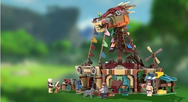 Lego Ideas BotW Stables