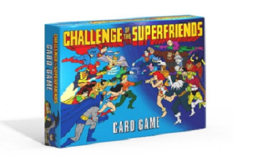 Challenge of the Superfriends Card Game