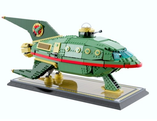 Planet Express Delivery Ship