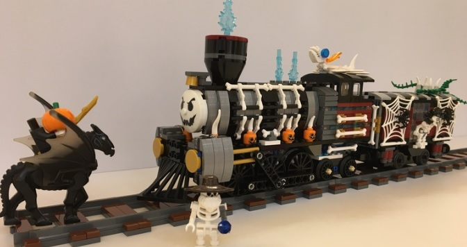 Spooky Haunted Steam Engine