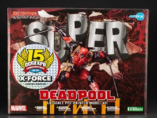 Super Deadpool X-Force ArtFx Statue