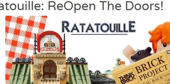LEGO Ideas Ratatouille Repen the Doors