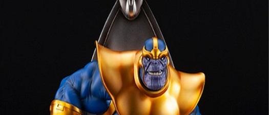 Thanos on Space Throne