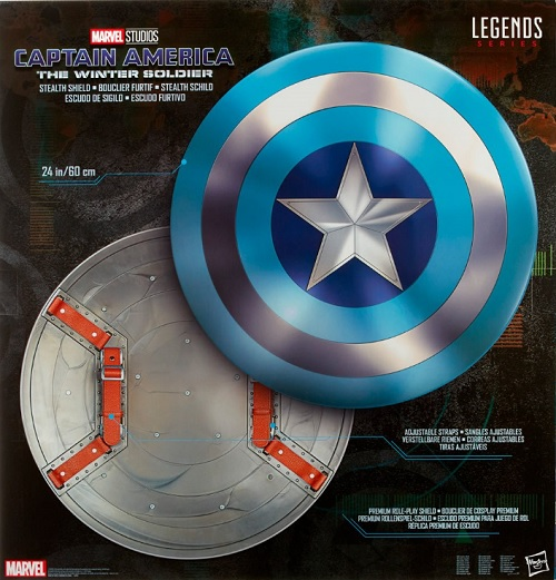 Marvel Legends Captain America Stealth Shield 1