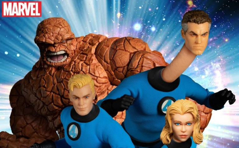 Mezco Fantastic Four Boxed