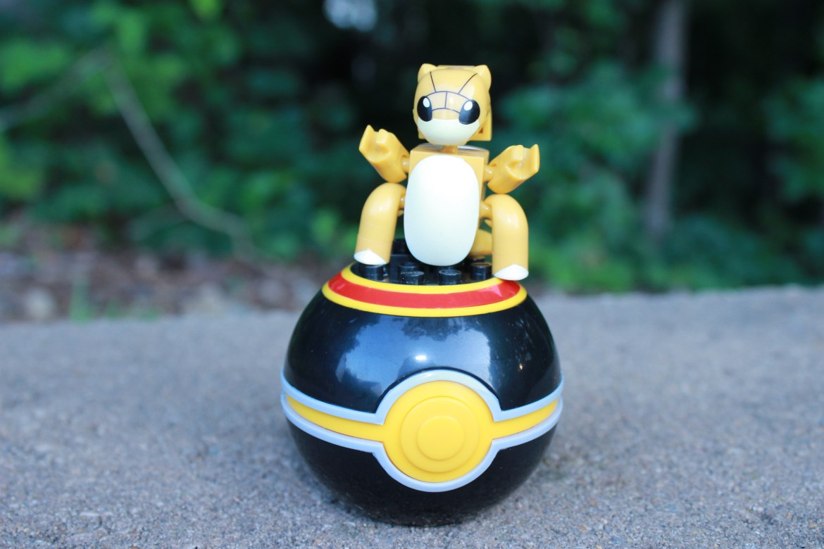 Mega Construx Pokemon Series 8 Ultra Rare: SANDSHREW