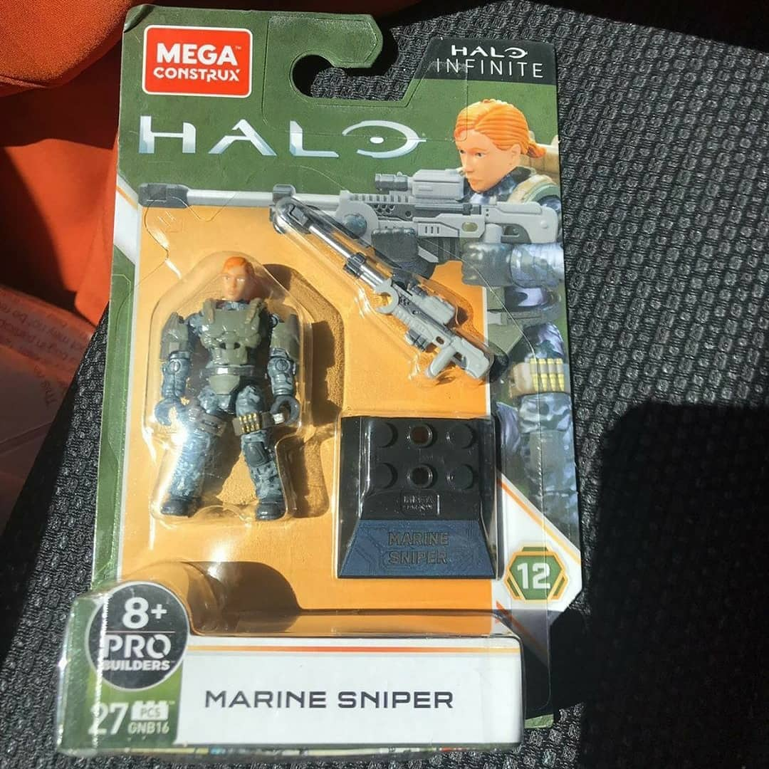 Mega Construx Halo Heroes Series 12 Revealed!