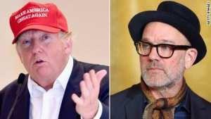 Michael Stipe Donald trump