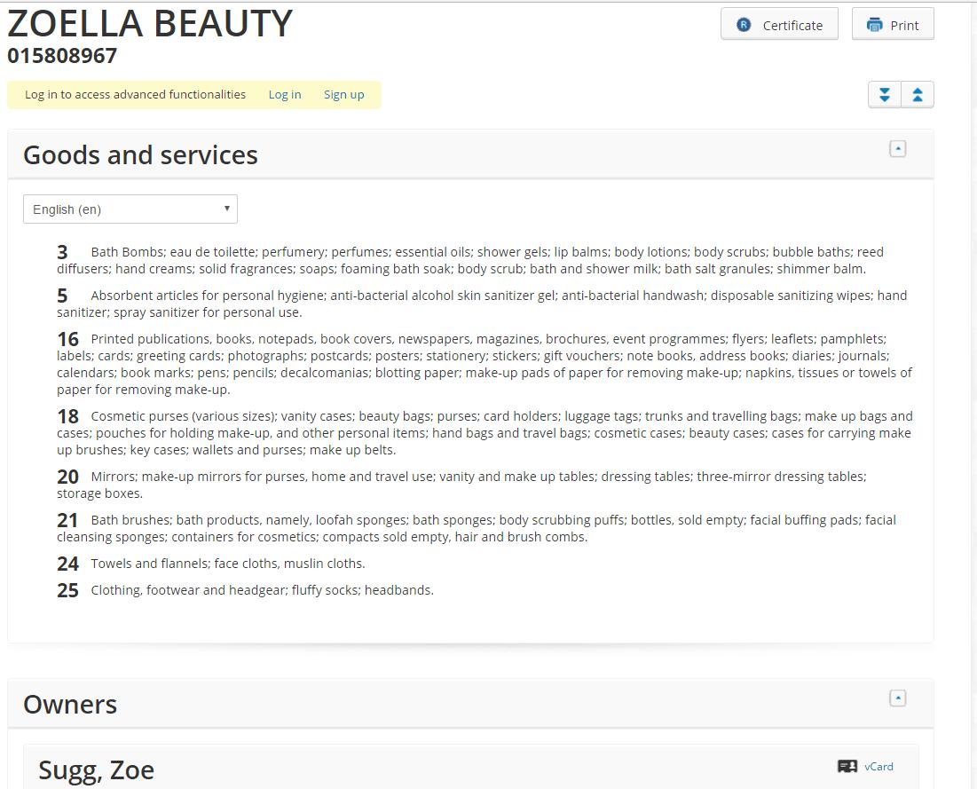 zoella-beauty-eu-trademark-application