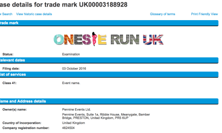 Onsies at the ready for the OnesieRunUK everybody Trademark filed on Monday Onesie