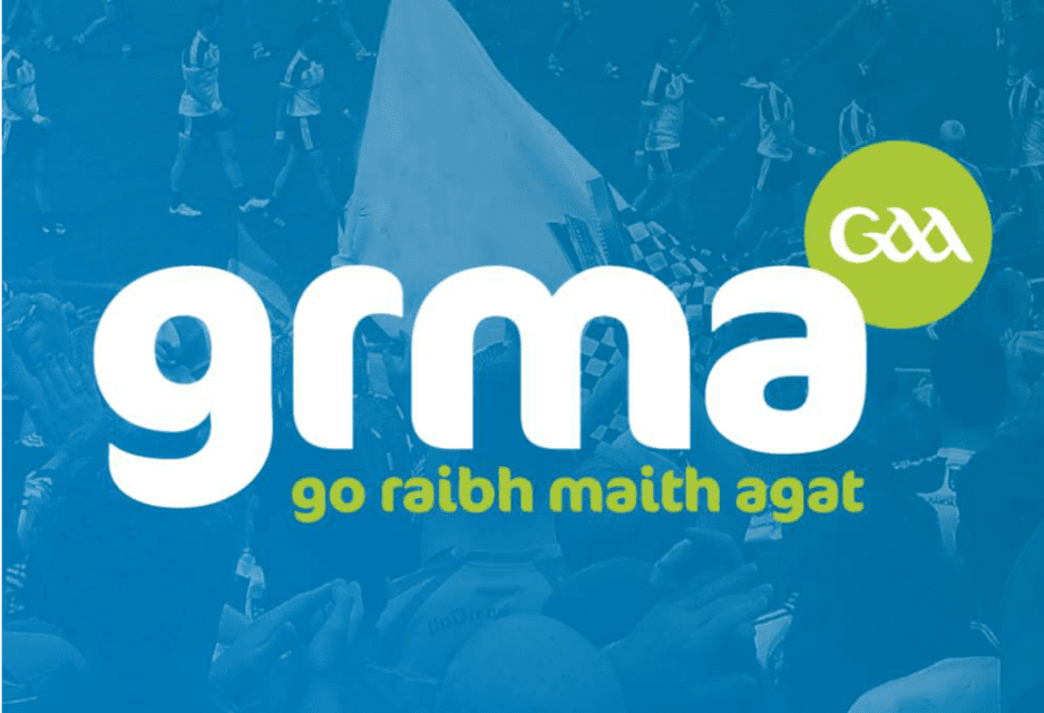 GAA applies for Trademark for Go Raibh Maith Agat (GRMA)……IN THE UK