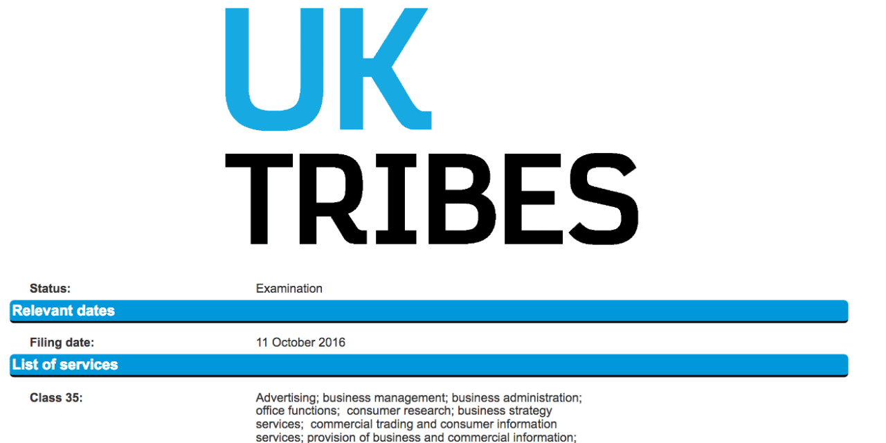 UK broadcaster Channel 4 Applies for Trademark for UK Tribes