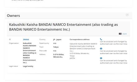 Bandai Namco applies for EU Trademark for Fortune Gears @BandaiNamco Bandai Namco