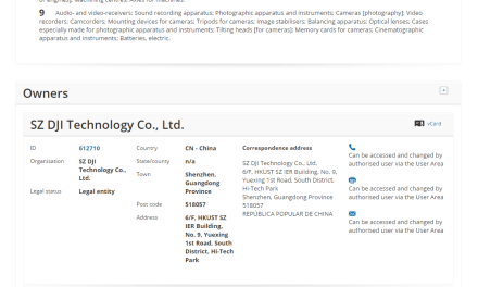 Drone Maker @DJIGlobal @DJIEurope applies for EU Trademark for DJI Terra Terra DJI