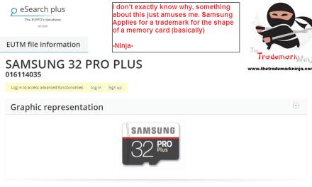 I wonder will this trademark application be accepted @Samsung Samsung TrademarkNinja