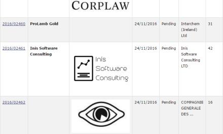Recent Irish Trademark Applications Corplaw Tm Trademark